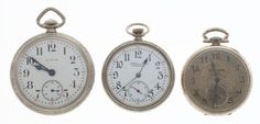 & Paul Revere Pocket Watches Case: Elgin - 16 size, nickel, plain screw back, - Available at Tuesday Internet Watch and. Pendant Watch, Paul Revere, Pocket Watches, Watch Case, Enamel, Auction, Antiques, Metal, Gold