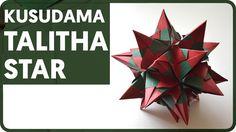Origami Talitha Star (Maria Sinayskaya)