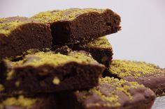 Brownie con pistachos