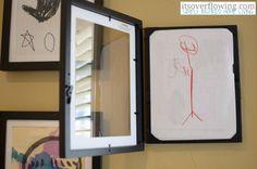 Organizing Children's Artwork ItsOverflowing 5