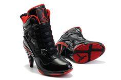 Jordan High Heels Femme-Basket Nike A Talon Dunk High Pas Cher Noir Rose Femme En Ligne