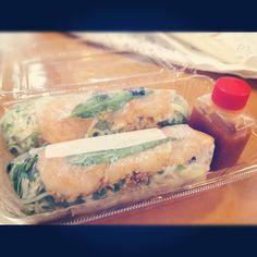 Rice paper rolls #australia #travel