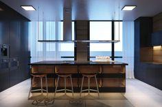 thiết kế nội thất căn hộ 230m2 6