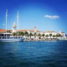 Summer in #Trogir #Croatia #unesco #travel #summer #holiday #vacation #mediterranean #trip #ReadySetHoliday #instatravel #historic