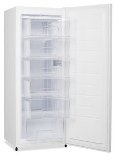 If you're in need of some extra freezer space, look no further than the Brada upright freezer. There will be no need to stress about storage again! Dj Board, Upright Freezer, Brick, Drawers, Dash Diet, Moma, Storage, Laundry Room, Kitchen