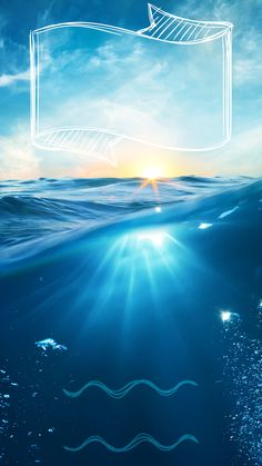 ↑↑TAP AND GET THE FREE APP! Lockscreens Art Creative Sea Sky Water Summer Vacation Lights Blue HD iPhone 6 Plus Lock Screen