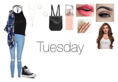 """Tuesday"" by isabellasmall on Polyvore featuring New Look, Converse, House of Harlow 1960, Kendra Scott, HUGO and GRETCHEN"