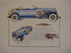 1929 Deusenberg by Ken Dallison