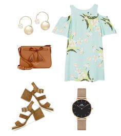 """""""Springdale ✨"""" by romerokrisjoan on Polyvore featuring MANGO, Tod's, Kate Spade, Daniel Wellington and Witchery"""