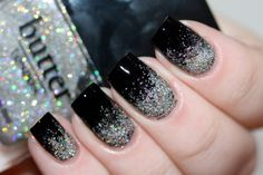 New Year's Eve Manicure! Glitter, Glitter Everywhere by Emma With Manicurity | Beauty & Lifestyle Bride