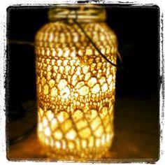 Lentera from old mason jar