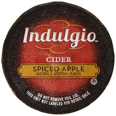 Indulgio Spiced Apple Cider Single Serve for Keurig K-Cup Brewers, 12 Count (Pack of 6) * Insider's special review you can't miss. Read more  : K Cups