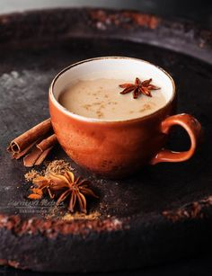 масала ,Indian masala tea with spices   by Natalia Lisovskaya on 500px