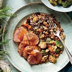 Apple Brandy-Glazed Pork Tenderloin | MyRecipes.com