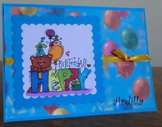 Ardilla's Papers: Colorful birthday