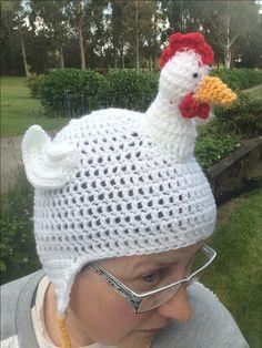 A clucking cute hat!