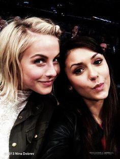 Nina Dobrev and Julianne Hough(: