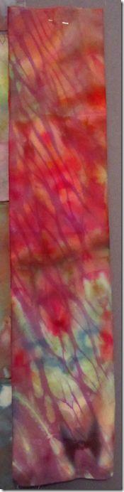 shibori over-dyed fabric
