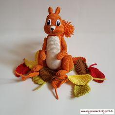 AMigurumi, crochet, häkeln, kostenlos, free, CAL, squirrel, Eichhörnchen, 2017, mystery