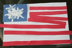 The Domestic Notebook: Fourth of July Preschool Crafts or President's Day