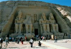 The Aswan High Dam on the Nile was completed in 1970 - the construction had amazed us all, including relocating the towering Abu Simbel temple.