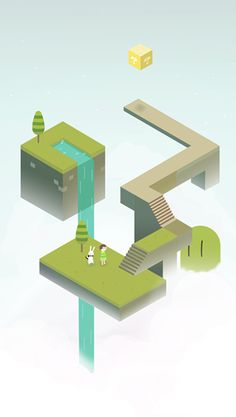 Fan Art: Monument Valley - SlideToPlay,iOS,android - 2P.com
