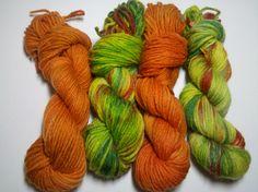 Mt. Dew & Cheetos, Nerdverse Chibi in Socket sock yarn, 100% superwash merino