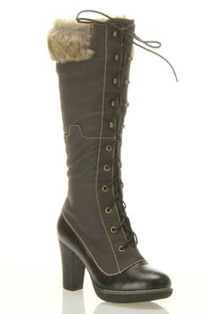 Ikon & Co Hero Heel Boots In Black - Beyond the Rack