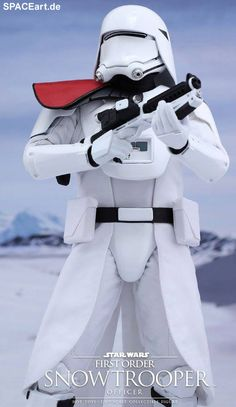 Star Wars: First Order Snowtrooper Officer, Deluxe-Figur (voll beweglich) ... https://spaceart.de/produkte/sw112.php