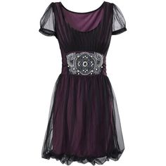 Purple Topaz Dress - New Age & Spiritual Gifts at Pyramid Collection (£45) found on Polyvore