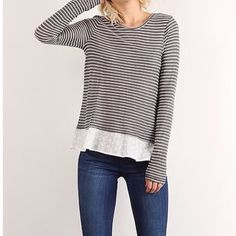 Adorable relaxed Cosette Top $48.