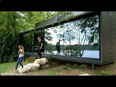 Container House - Vipp Shelter tiny prefab as precise industrial-era appliance - YouTube - Who Else Wants Simple Step-By-Step Plans To Design And Build A Container Home From Scratch?