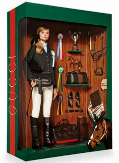 Gucci Barbie doll // Photo by Giampaolo Sgura for Vogue Paris. Ogilvy Equestrian Approved! Equine, Half Pad, Saddle Pad, Helmet, Saddle, Fashion, Style, Comfort, Equipment, Tack, Horse, Pony, Gray, Chestnut, Bay, Black, Horse Show, Show Jumping, Equitation, Pony
