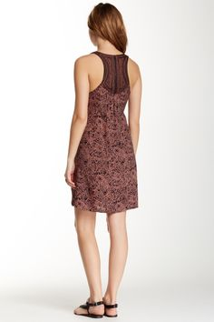 Embroidered Bodice Shift Dress by Angie on @nordstrom_rack