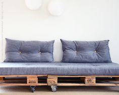 Lastpalls soffa, kanske blir det ennsådan i mitt nya klassrum!