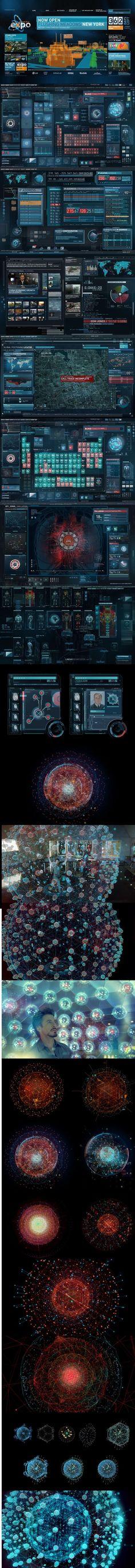 【几个电影的UI设计及其素材】Aveng...