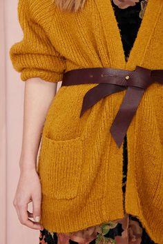 Ribbon Leather Belt ❤