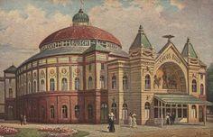 um 1900 Berlin - Cirkus Busch, Börse Berlin