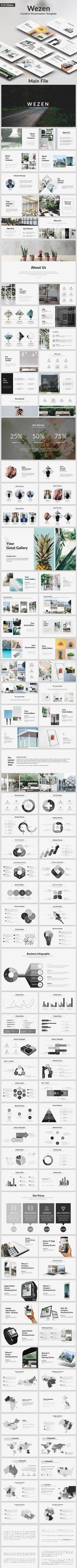 Wezen  Creative Google Slide Template — Google Slides PPTX #easy #free icons • Download ➝ https://graphicriver.net/item/wezen-creative-google-slide-template/19426874?ref=pxcr