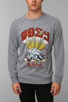 OBEY No Future Pullover Sweatshirt