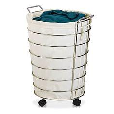 Laundry Hamper with Wheels Removable Bag Rolling Hamper C... https://www.amazon.com/dp/B01LXLXXSM/ref=cm_sw_r_pi_dp_x_vXGlybDGRJT5H