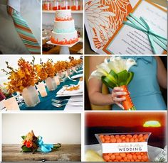 Teal and Orange inspiration board