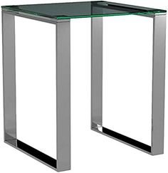 Find Cortesi Home Remi Contemporary Square Glass End Table Chrome Finish online. Shop the latest collection of Cortesi Home Remi Contemporary Square Glass End Table Chrome Finish from the popular stores - all in one Plastic Dining Chairs, Tufted Dining Chairs, Contemporary Living Room Furniture, Contemporary Side Tables, Coffee Table Rectangle, Modern Coffee Tables, White Office Furniture, Night And Day Furniture, Glass End Tables