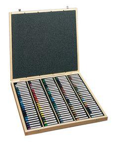 Sennelier : Oil Pastels - Wooden Box Sets 120 Assorted