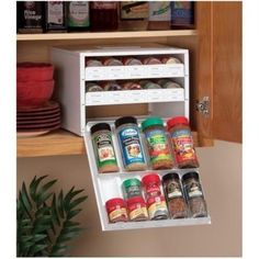great spice organization tool #pantry #spice #organize