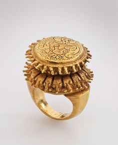 Lotus Ring. Java, Indonesian. Central Javanese Period, 8th – early 10th century.