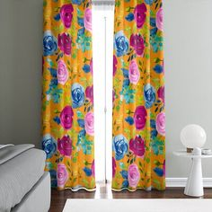 Sheer Curtain Panels, Sheer Curtains, Window Curtains, Tropical Curtains, Rose Window, Black Windows, White Paneling, Home Renovation, Interior And Exterior