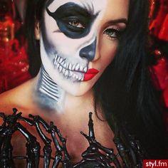 Halloween make up #halloween #makeup #costume