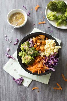 Photo de la recette : Buddha bowl d'automne à la patate douce