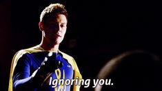 """ignoring you"" finn hudson"